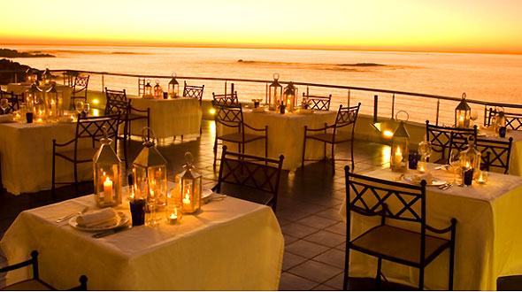 Dining In Camps Bay Cape Villa Collection